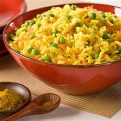 Dušeni riž z zelenjavo
