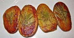 Pečene krompirjeve polovič