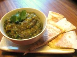 Salsa iz zelenega paradižnika