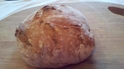 Domač kruh brez gnetenja